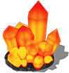 редкий минерал Солариум
